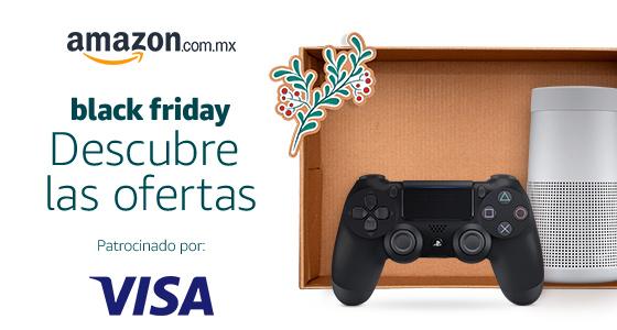 Black Friday 2017 en Amazon: cupón de $200 de descuento con VISA (mín $800)