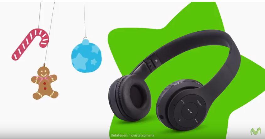 Movistar: Audífonos inalámbricos gratis al comprar equipo + recarga de $200 pesos
