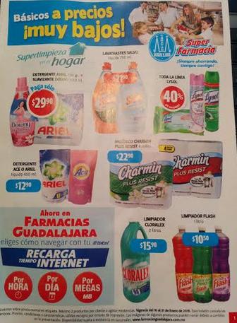 Folleto de ofertas Farmacias Guadalajara del 16 al 31 de enero 2015