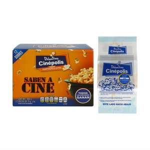 Black Friday 2017 Sam's Club: 2x1 Palomitas Cinepolis $80.01 por 24 pzs (exclusivo online)