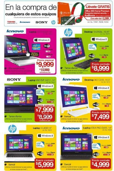 OfficeMax: Office, Kaspersky y audífonos gratis comprando computadoras seleccionadas