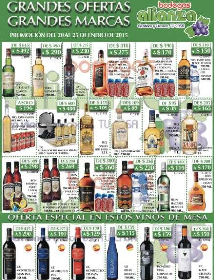 Bodegas Alianza: 3 botellas de tequila El Jimador, hielera y asador portátil $480