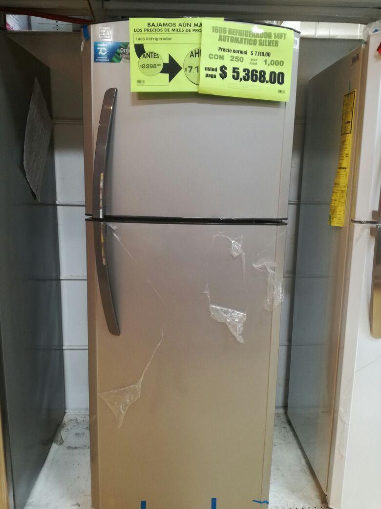 La Comer en Coatzacoalco: Refrigeradores 14P con descuento en