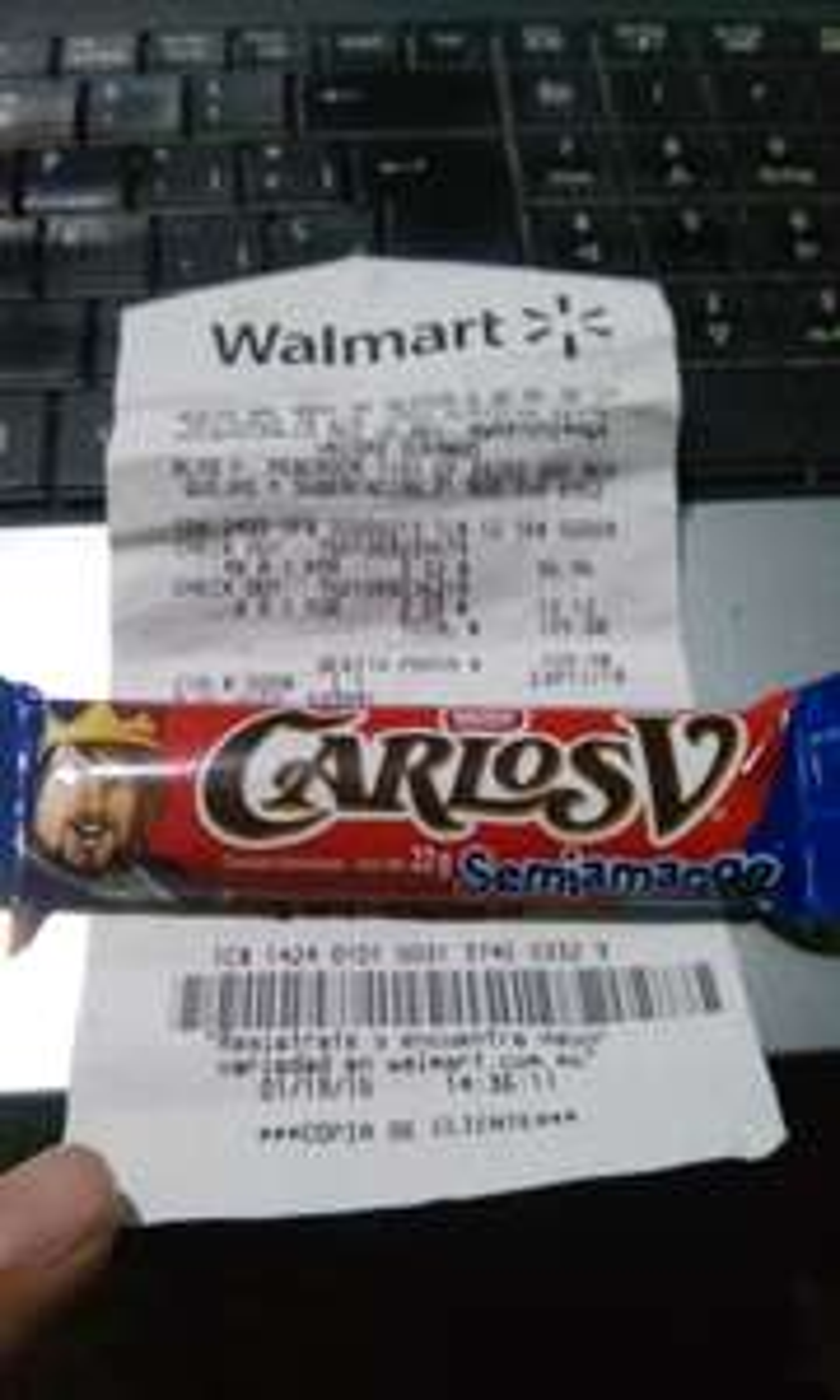 Walmart: Carlos V Semiamargo $2.02