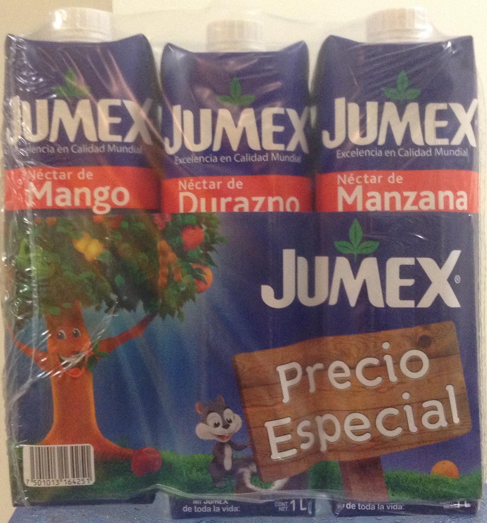 Bodega Aurrera: jugo Jumex 3 pack $15