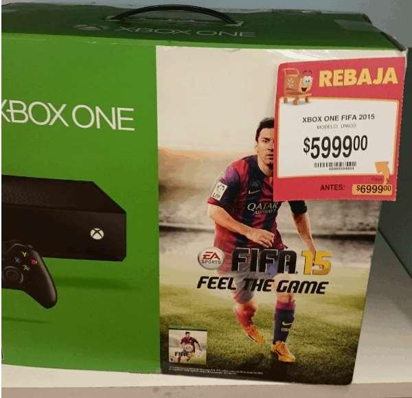 Walmart: Xbox One con FIFA 15 $5,999
