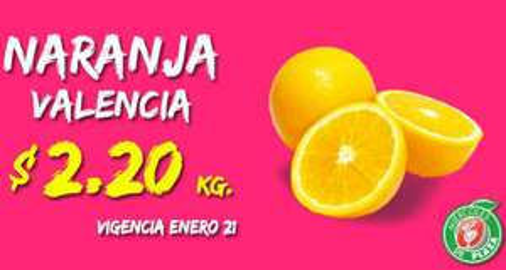 Miércoles de Plaza en La Comer enero 21: naranja $2.20 el kilo y más