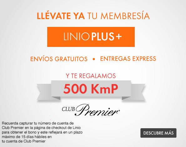 Linio regala 500 kmp al comprar la membresía Linio Plus