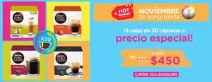 Hot Monday 2017 Dolce Gusto: 90 capsulas Dolce Gusto