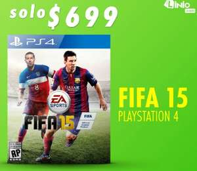 Linio: Fifa 15 para PS4 en $699