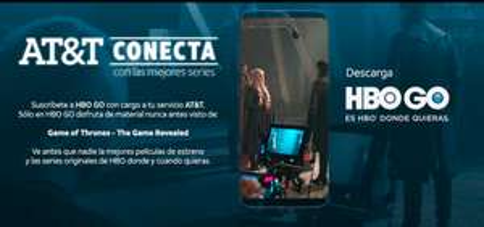 AT&T te conecta a HBO GO. 30 DÍAS GRATIS