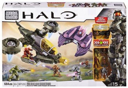 """Gamerush: Halo Mega Bloks """"Hornet vs Vampire"""" $599"""