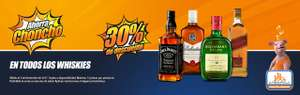 Chedraui: Johnnie W Red L $191.80 y mas (30% de descto en Whiskies)