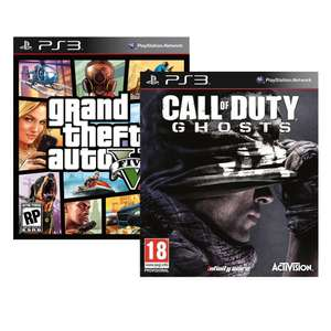 Walmart: Call Of Duty Ghost + GTA V + Ultra Street Figther 4 de PS3 $999