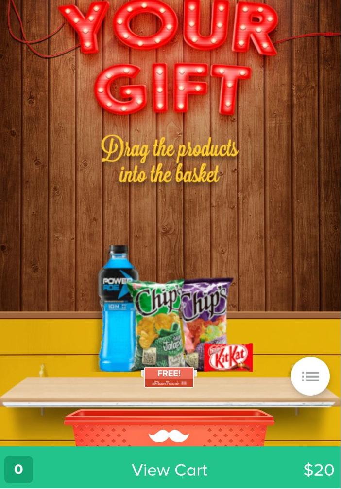 Rappi: Powerade Chips y kitkat gratis
