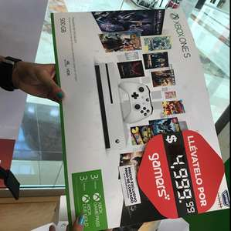 Gamers Xalapa: Xbox One 500GB