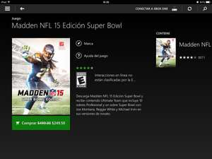 Madden NFL 15 Super Bowl Edition $249.50