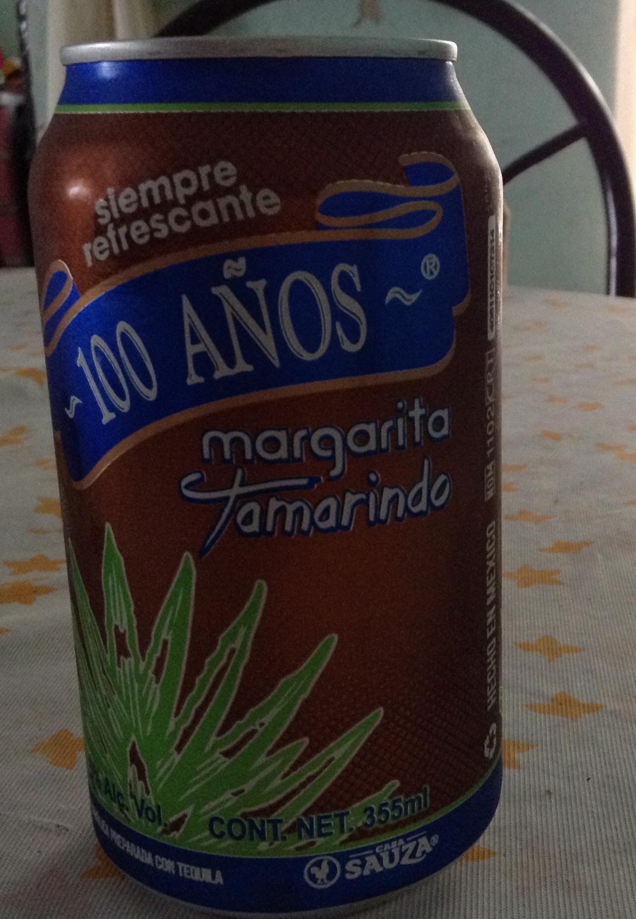 "Bodega Aurrerá: Margarita tamarindo tequila ""100 Años"" $7"