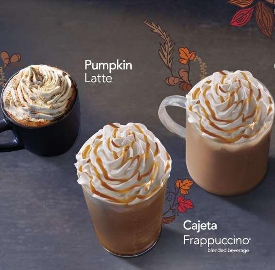 Starbucks: 50% de descuento en bebidas de otoño