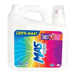 Sam's Club: Detergente Líquido MAS Color 10 lts.