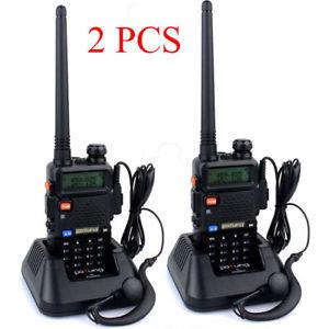 eBay: Par De Radios FM Baofeng UV-5R