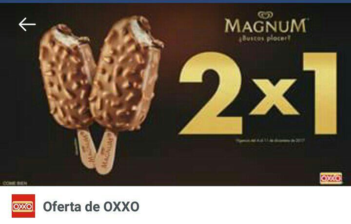 Oxxo: Magnum almendra 2x1