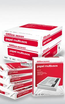 Office Depot: caja de papel ecológico $395