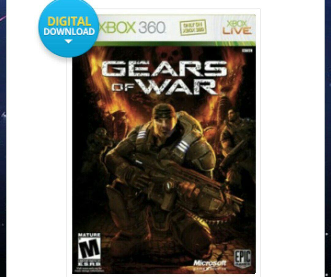 CD Keys: Gears of War Xbox 360