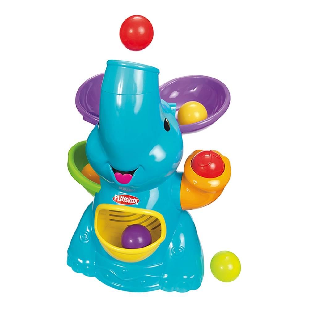 Walmart: Elefantin Lanzabolita Playskool $299 (de $749) y outlet de juguetes