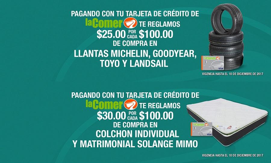 La Comer: Promociones exclusivas pagando con tarjeta de crédito de La Comer