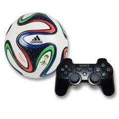 Sanborns: Bundle Dual shock 3 World Cup 14 (envio gratis)
