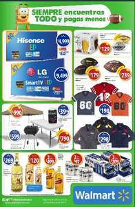 folleto walmart superbowl