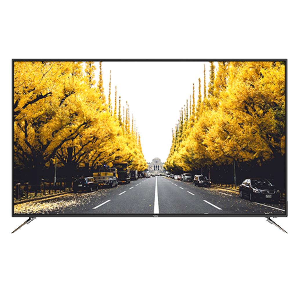 Soriana: Pantalla LED Vios 55 plg UHD 4K Smart TV. HASTA 18 MSI V552015SM