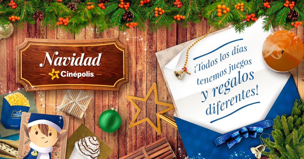 Navidad Cinepolis Día 9 Canasta Gde Palomitas