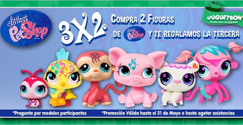 Juguetron: 3x2 en figuras de Littlest PetShop