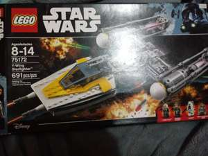 Juguetron: Nave Y-Wing Starfighter lego stars wars