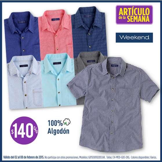 Suburbia: camisas para hombre $140