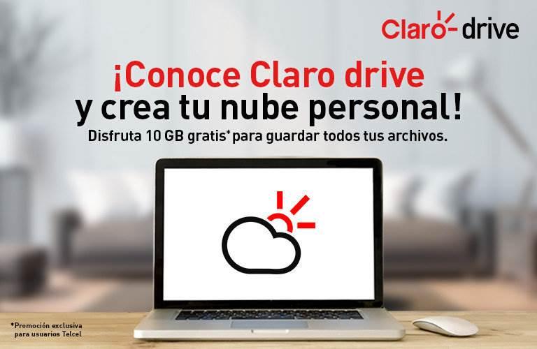 10GB de almacenamiento gratis en la nube si eres usuario de Telcel o Telmex