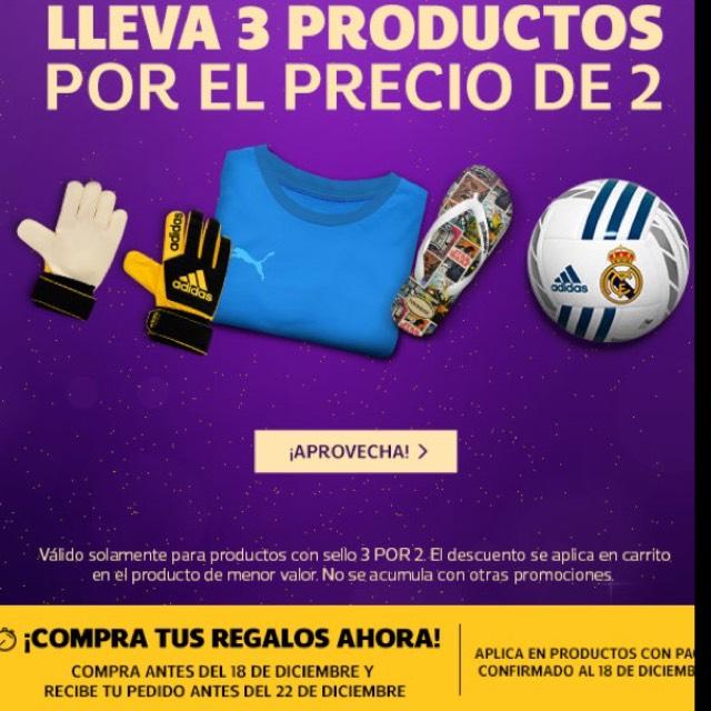 Netshoes: Compra 3 productos y paga 2 (productos seleccionados)