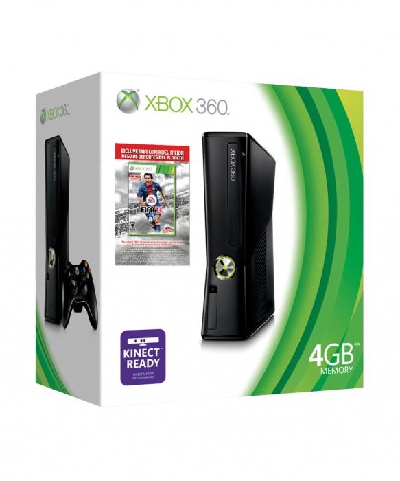 Palacio de Hierro: Xbox 360 4GB con FIFA 13 $2,399 o con Kinect y 2 juegos $3,059