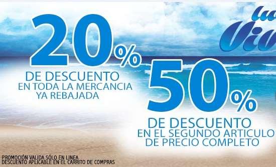 Dportenis: 2x1 y medio en artículos de precio normal y 20% adicional en rebajas