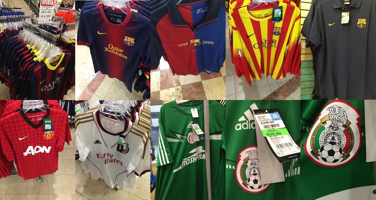 El Nuevo Mundo: camisas de fútbol baratas