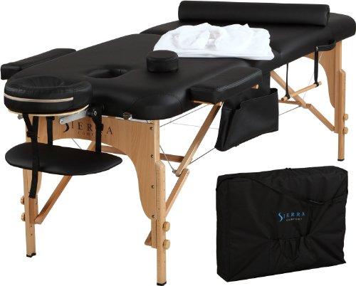 Amazon: Mesa portátil para masajes todo incluido.