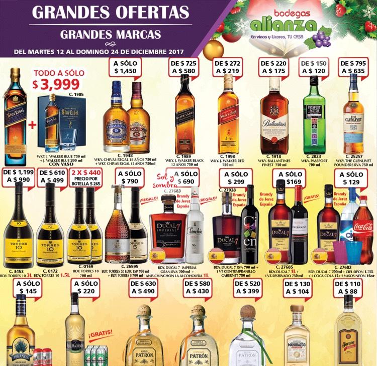 Bodegas Alianza: promociones de Navidad