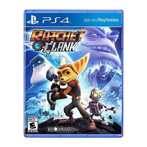 Amazon: Ratchet & Clank ($219), Uncharted Collection ($290), Bloodborne ($290) para PS4