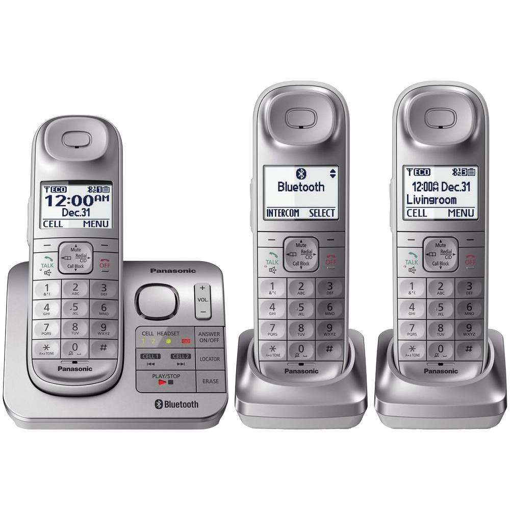 Walmart: Set de telefonos inalámbricos Panasonic