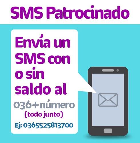 Telcel: servicio de mensaje de texto patrocinado