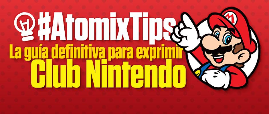 Guía para aprovechar regalos Club Nintendo