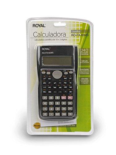 Amazon Mexico: Royal RO-FX-85 MS Calculadora Científica, Pantalla de 10+2 Dígitos, 240 Funciones Científicas