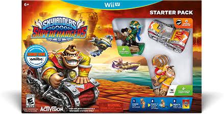 Gamers: Skylanders SuperChargers Wii U Amiibo Donkey Kong